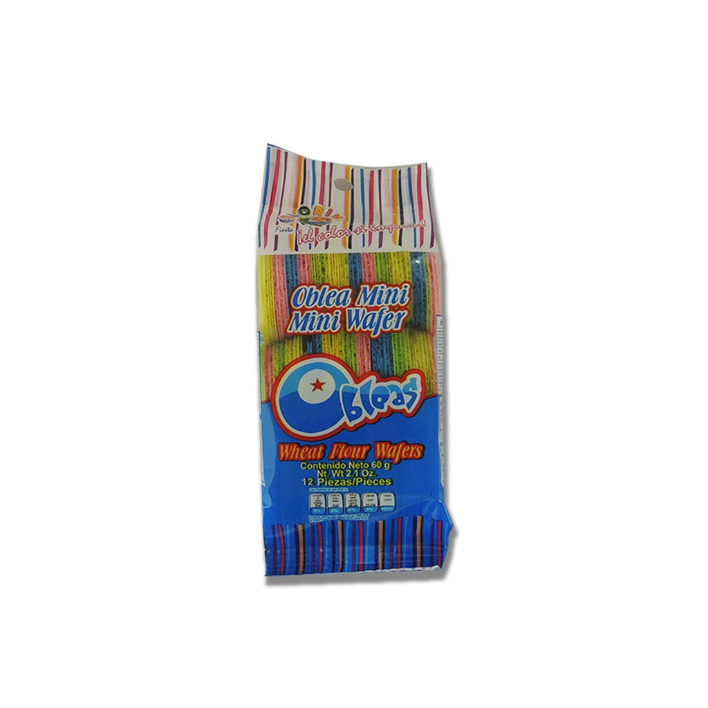 Las Sevillanas Obleas Mini Color Wafer 12/2.1oz