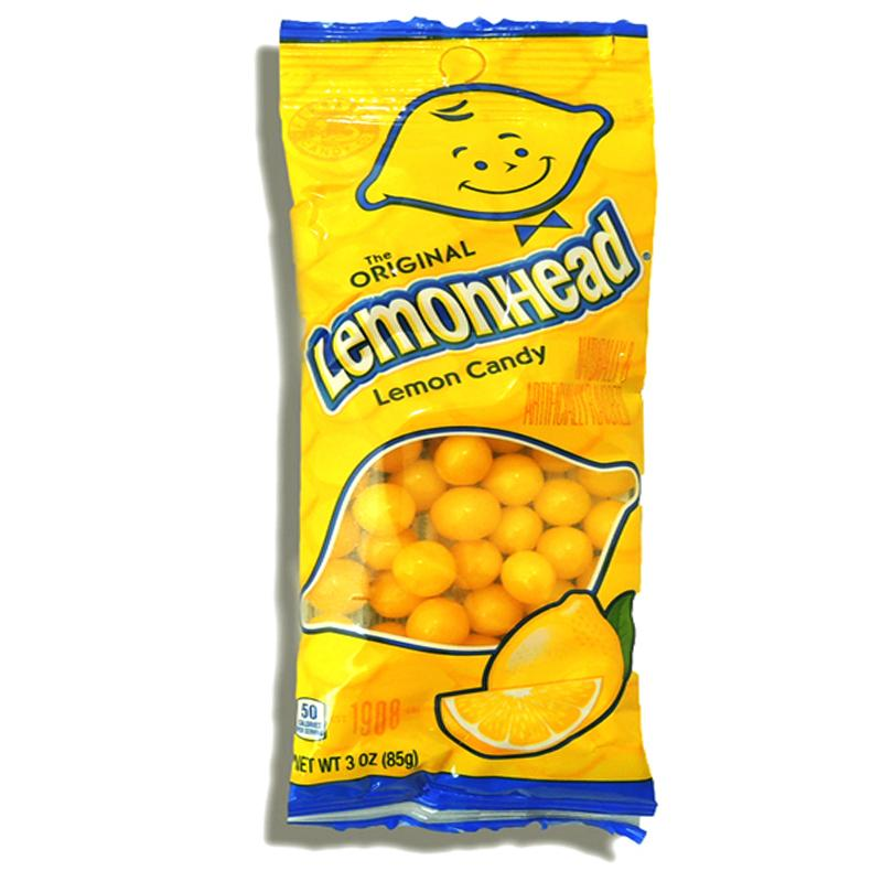Lemonhead Lemon Candy 3 Oz