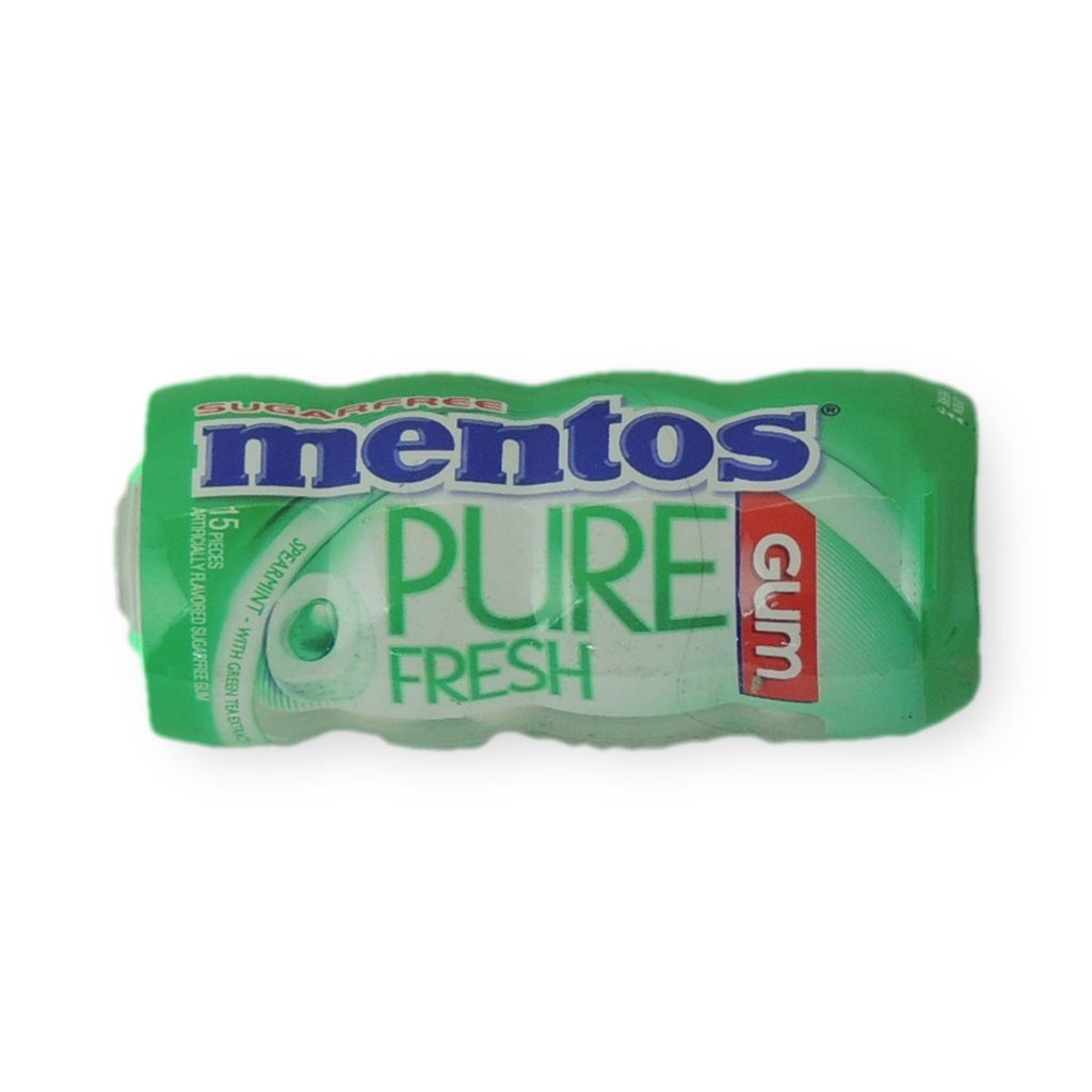 Mentos Pure Fresh Gum Spearmint 15 Pcs