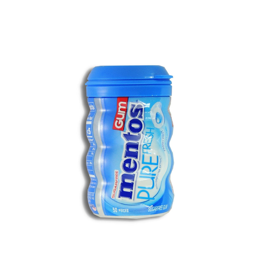 Mentos Gum Pure Fresh Mint - Big Bottle 3.53oz