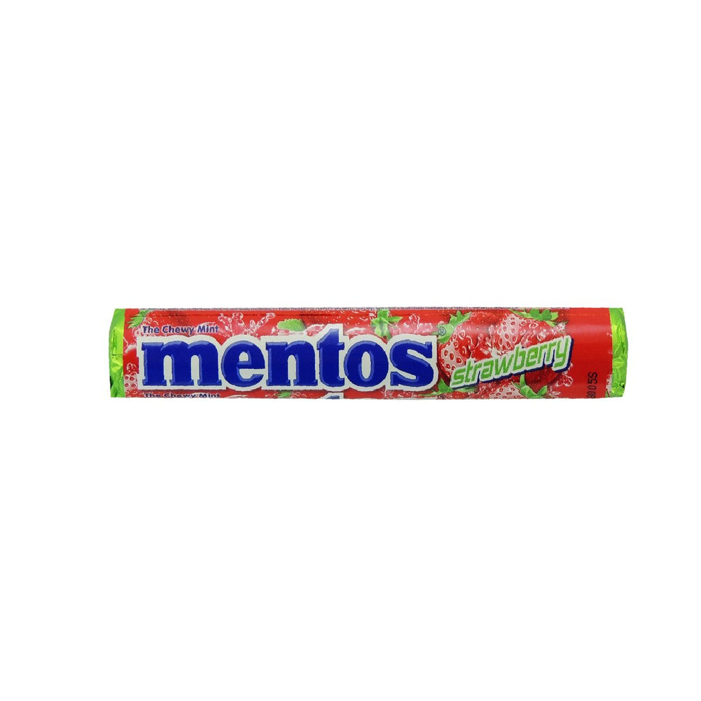 Mentos Roll Chewy Strawberry 1.32oz