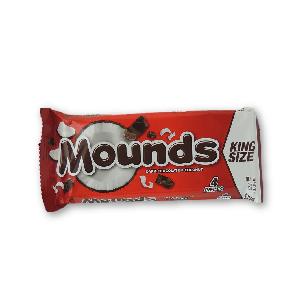 Mounds King Size Dark Coconut Chocolate 3.5 Oz