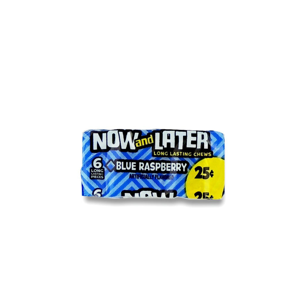 Now&Later Changemakers Bars Blue Raspberry 6pcs