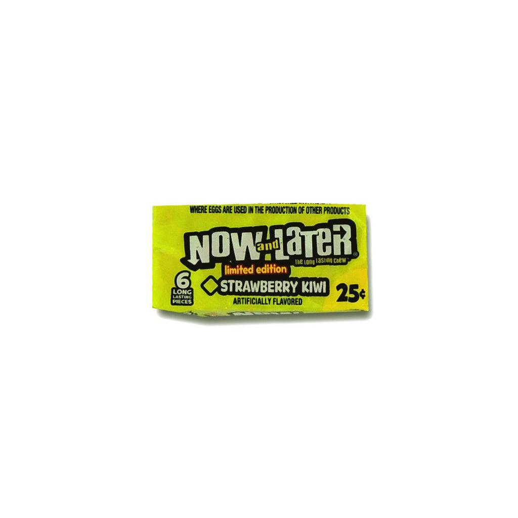 Now&Later Changemakers Bars Strawberry Kiwi 6 Pcs