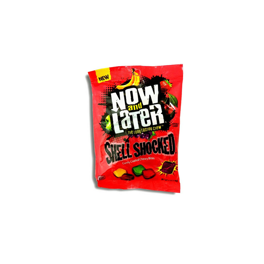 Now&Later Sour Shell Shocked 6 Oz
