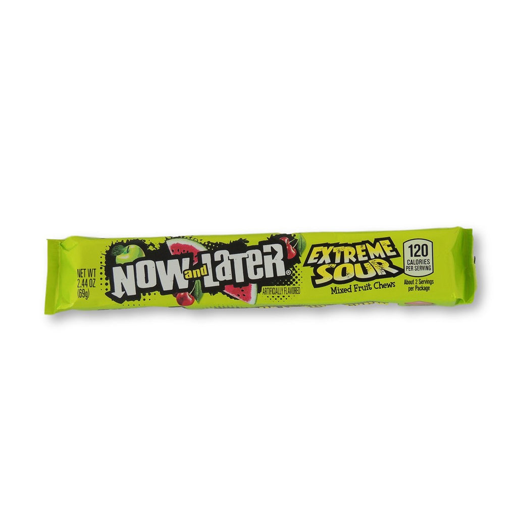 Now & Later Xtreme Sours 16 Ct