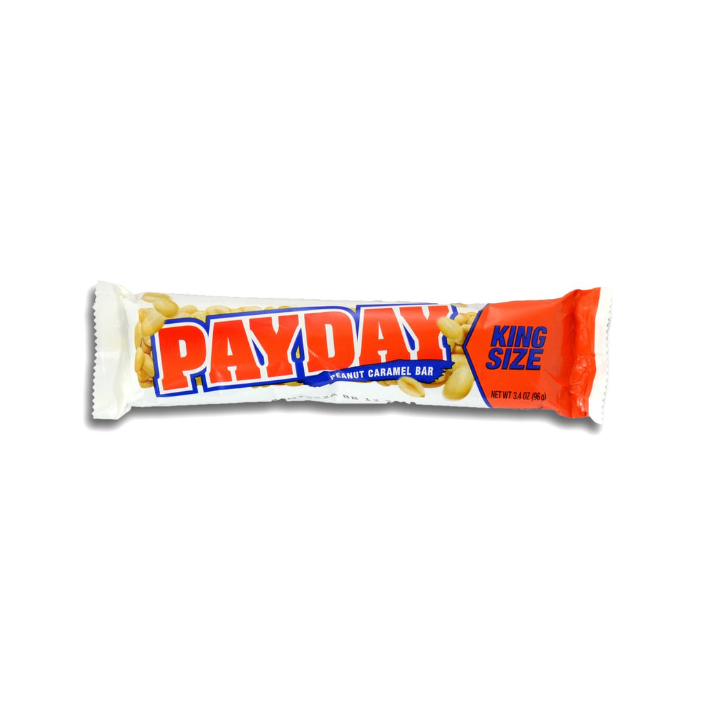 Payday King Size Peanut Caramel Bar 3.4oz
