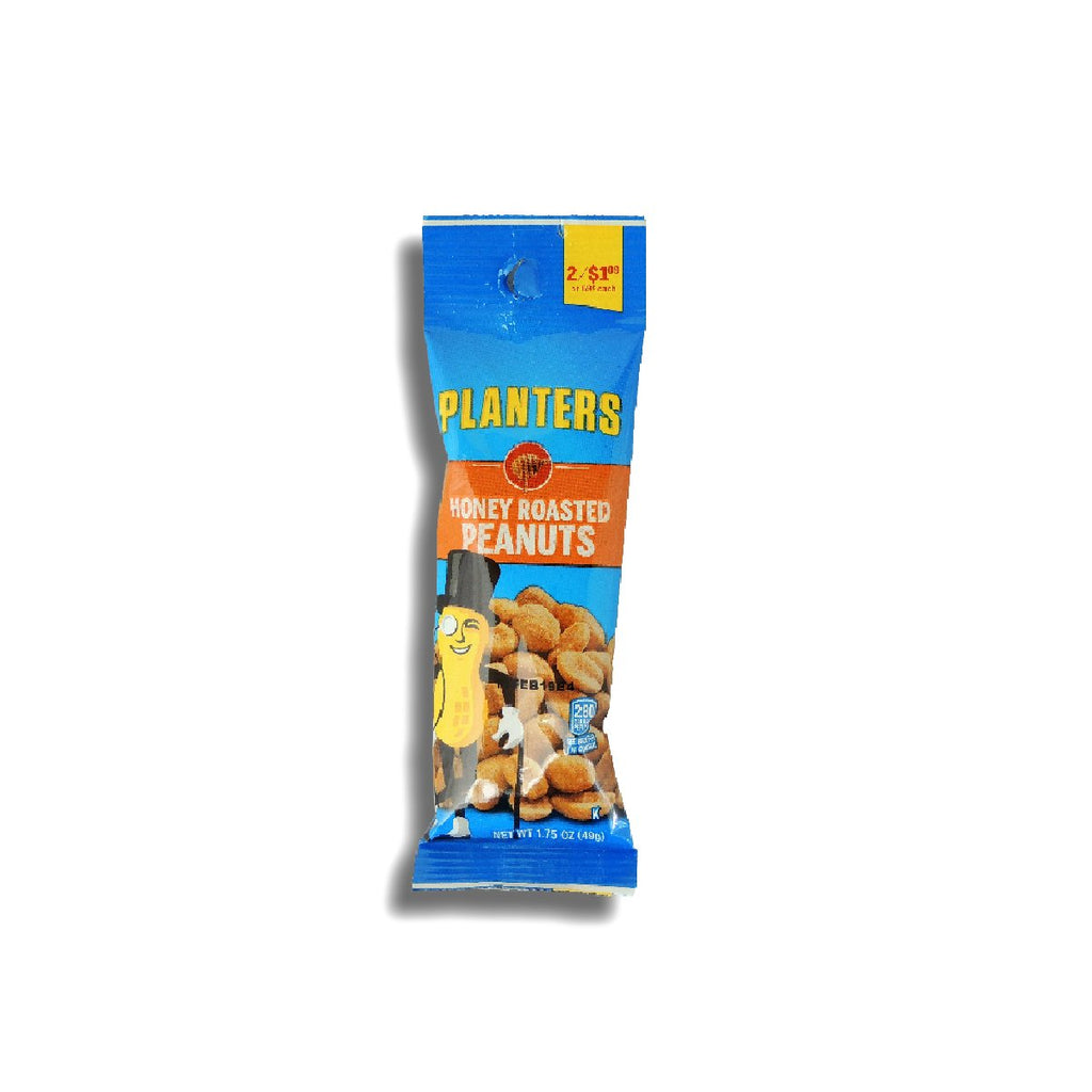 Planters 2/$1.09 Honey Roasted Peanuts 1.75 Oz