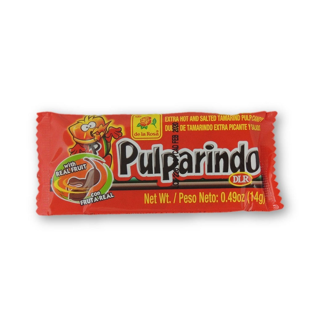 Pulparindo Tamarind Xtra Hot & Salted 0.5 Oz