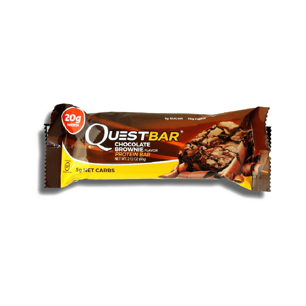 Quest Chocolate Brownie Protein Bar 2.12oz