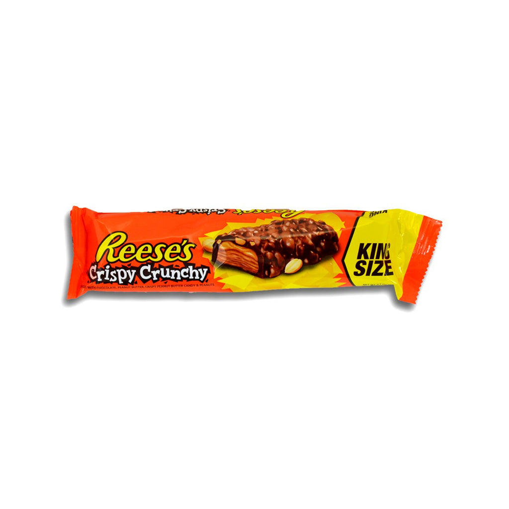 Reeses King Size Crispy Crunchy Bar 3.1oz