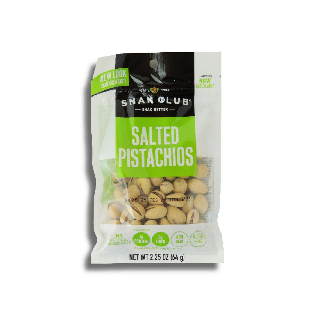 Snak Club Salted Pistachio - Peg 2.25 Oz