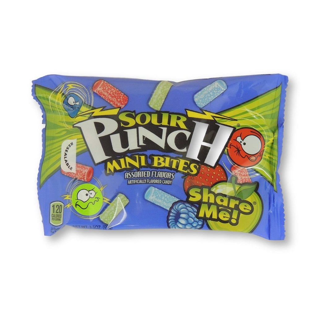 Sour Punch King Size Assorted Bites 3.5 Oz
