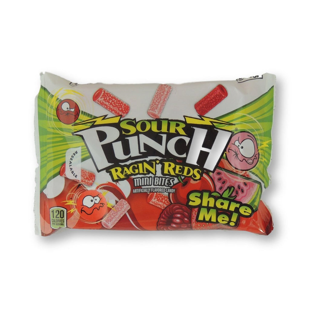 Sour Punch King Size Ragin Red Bites 3.5 Oz