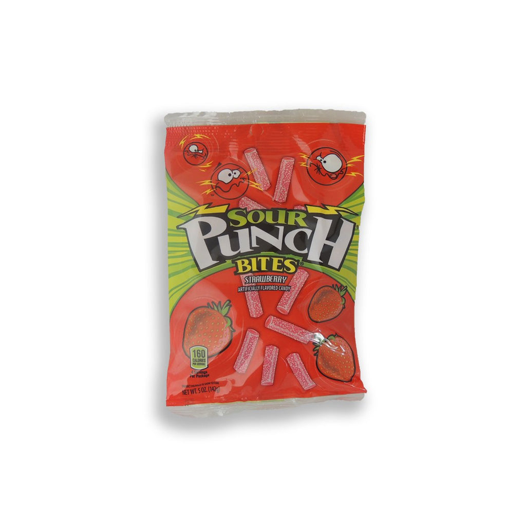 Sour Punch Strawberry Bites 5 Oz