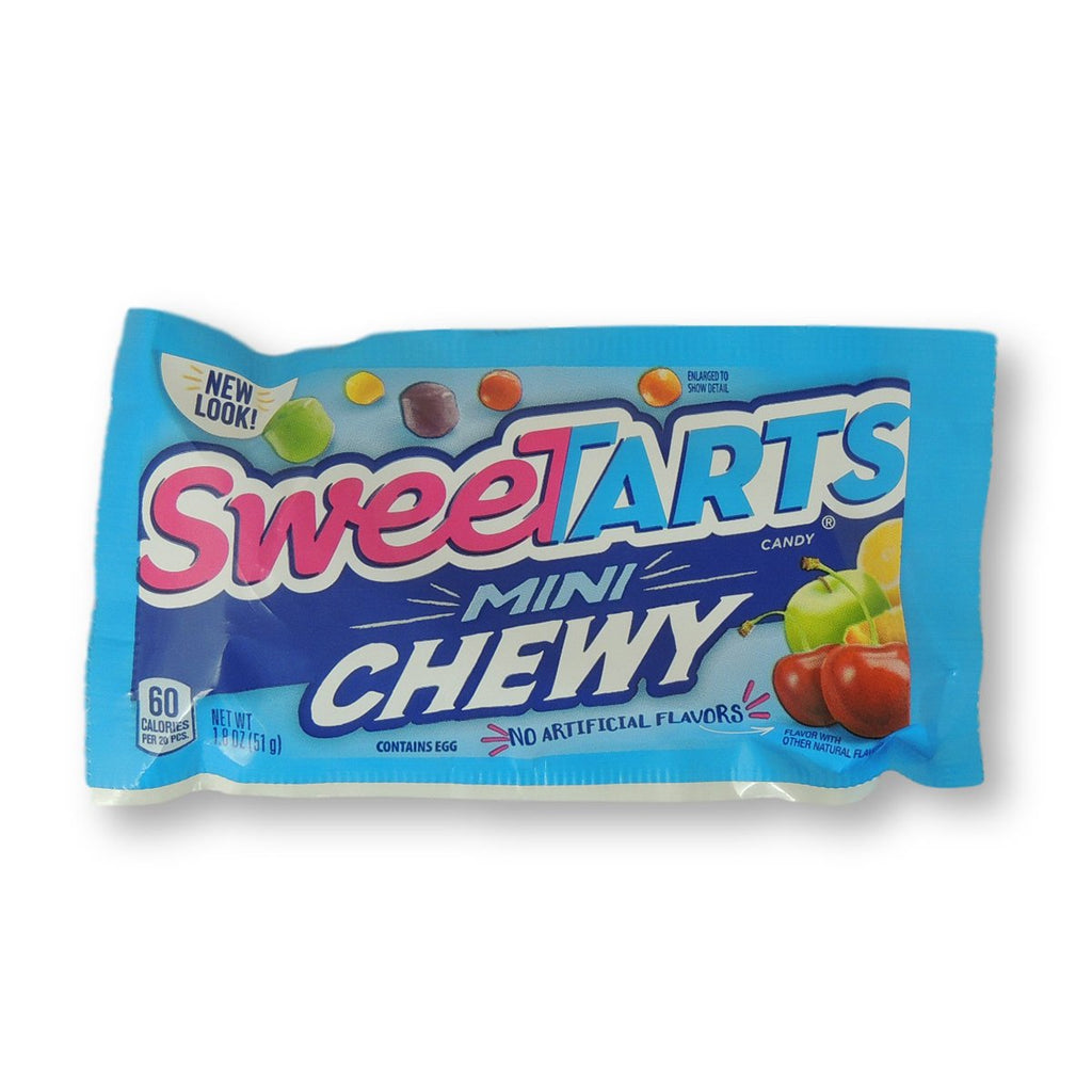 Sweetarts Mini Chewy Pouches 1.8 Oz