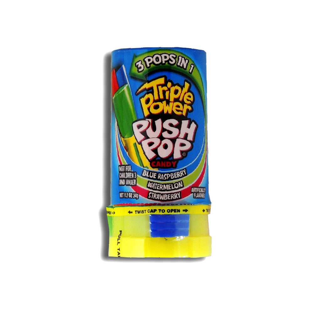 Topps Push Pop Triple Power 1.2oz