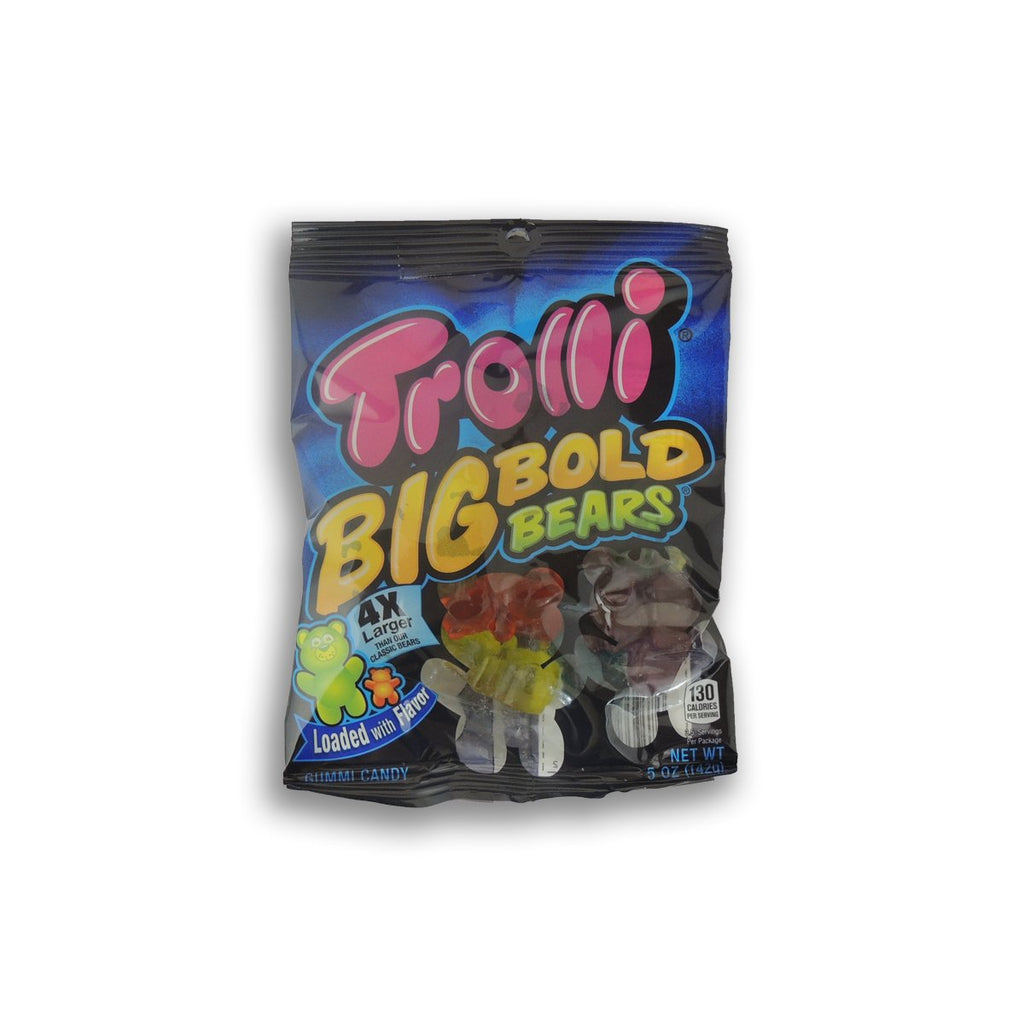 Trolli Peg Bag Big Bold Bears 5 Oz