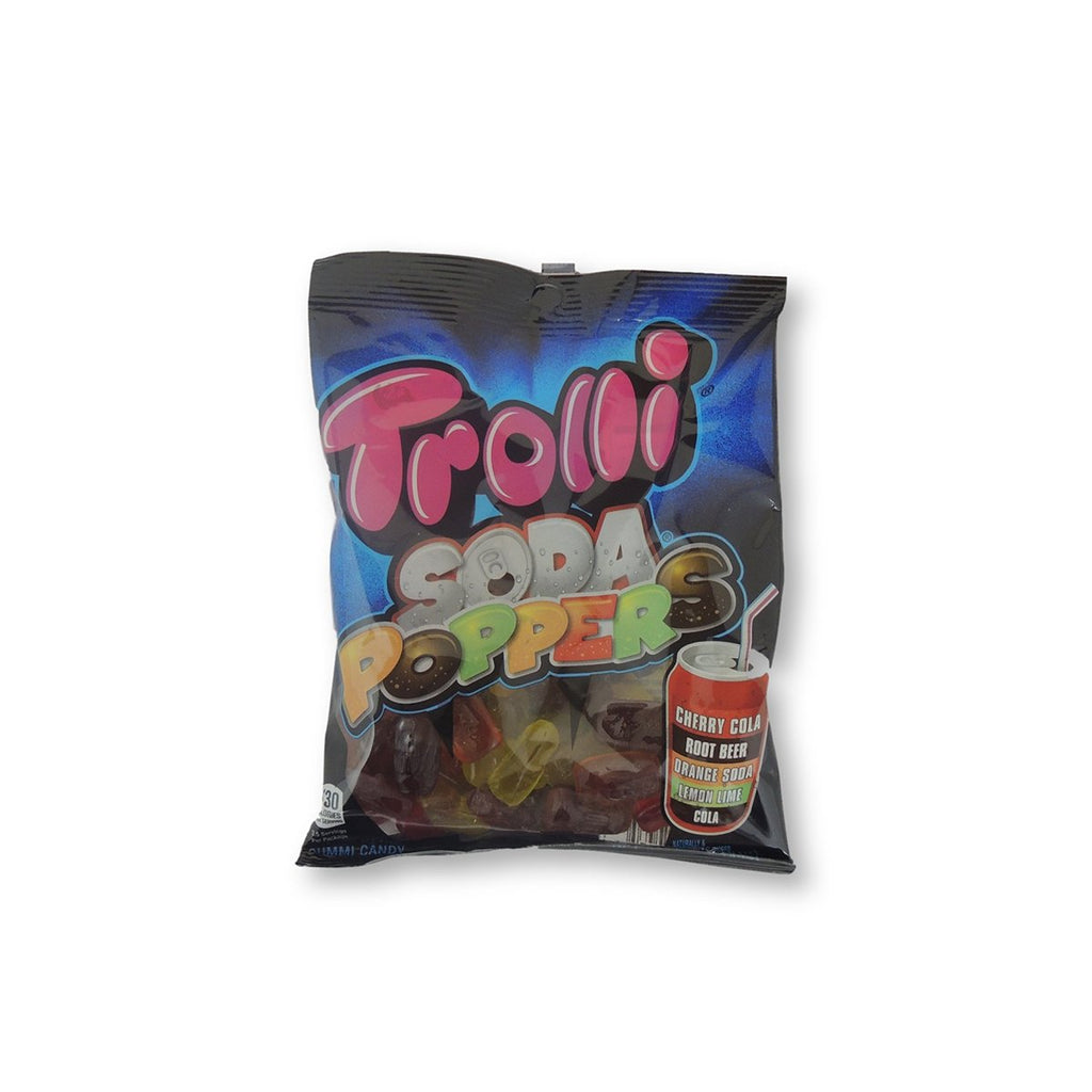Trolli Peg Bag Soda Poppers 5 Oz