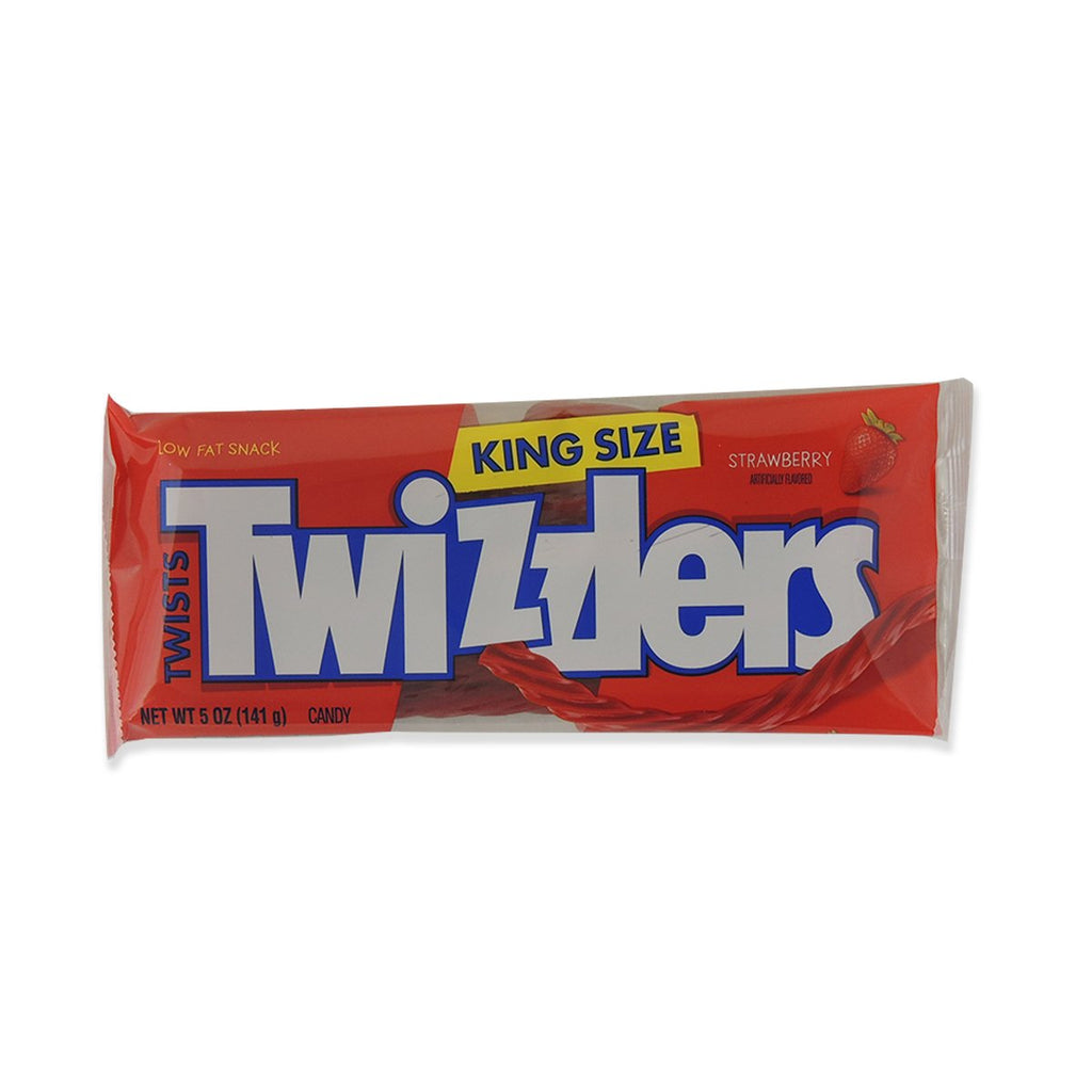 Twizzlers King Size Strawberry Twists - Bags 5 Oz