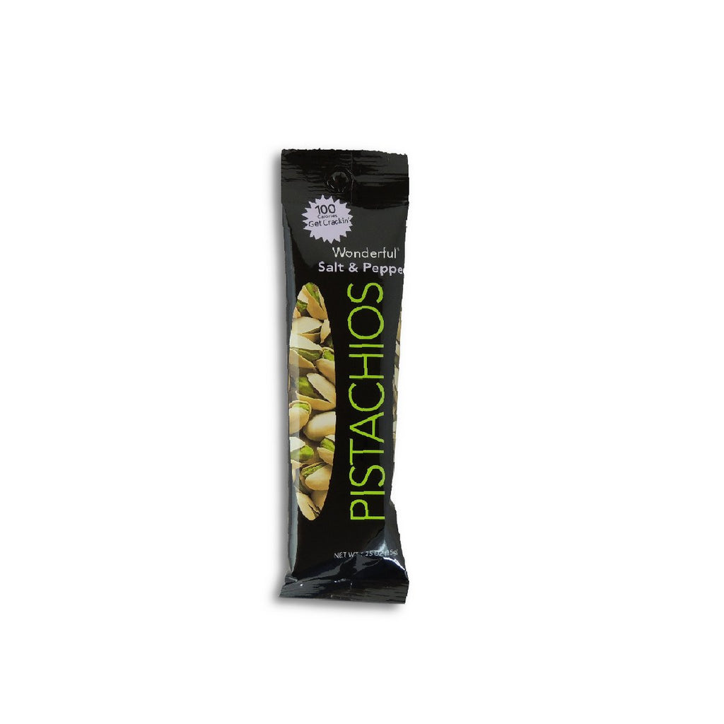 Wonderful  Salt & Pepper Pistachio - Tube 1.25 Oz