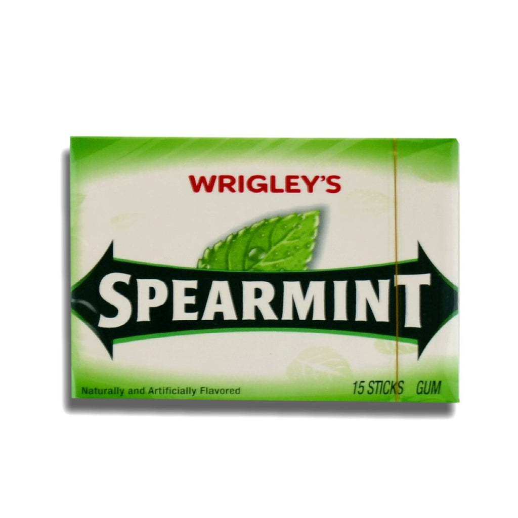 Wrigleys Gum Spearmint 15s