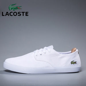 fcd6fd735b21 Chaussure blanche pour homme Lacoste - BigDealFrance