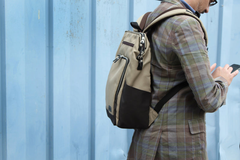 TWO-TONE GABA CITY BACKPACK