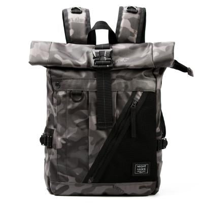NIGHTHAWK ROLLTOP BACKPACK - CAMO