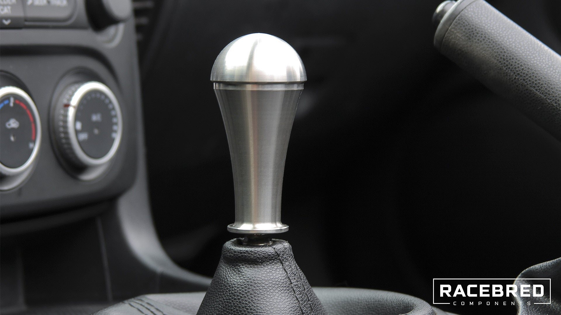 Racebred Components Stainless Steel Teardrop Shift Knob