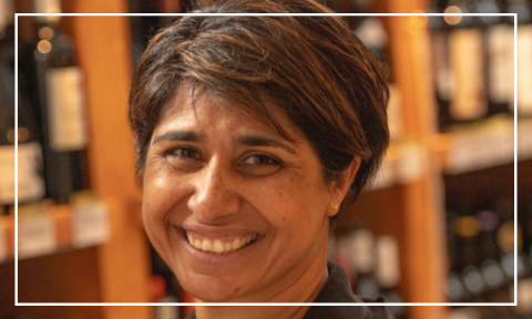 Sangita Tryner - proprietor of Delilah Fine Foods