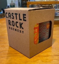 Castle Rock Gift Cube - 4 x Can