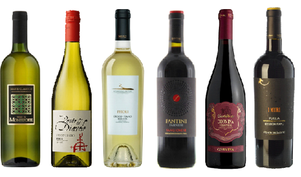 Italian Favourites Wine Deal