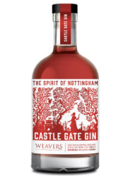 Castle Gate Nottingham Pink Gin 20cl 40%