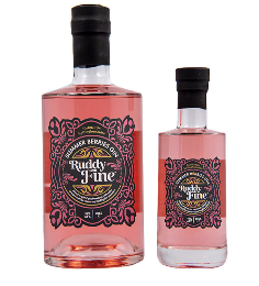 Ruddy Summer Berries Gin 42% ABV 20cl