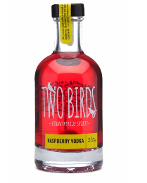 Two Birds Raspberry & English Vodka 20cl 26%