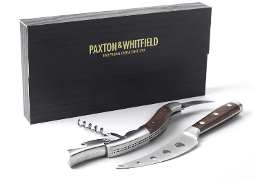 Paxton & Whitfield Cheese & Wine Sommelier Set