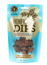 Mighty Fine Milk Chocolate Honeycomb Dips
