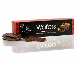 Whitakers Dark Ginger Wafers 175g