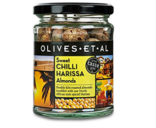 OEA Sweet Chilli Harissa Almonds 150g