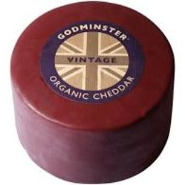 Godminster Org Cheddar COW, Pasteurised, Veg 200g