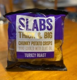 Slabs Roast Turkey Crisps 80g