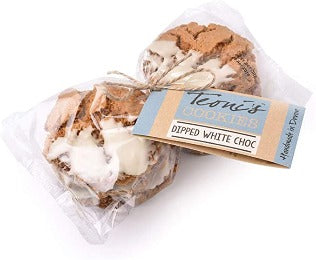 Teonis White Chocolate Dipped Cookies 300g