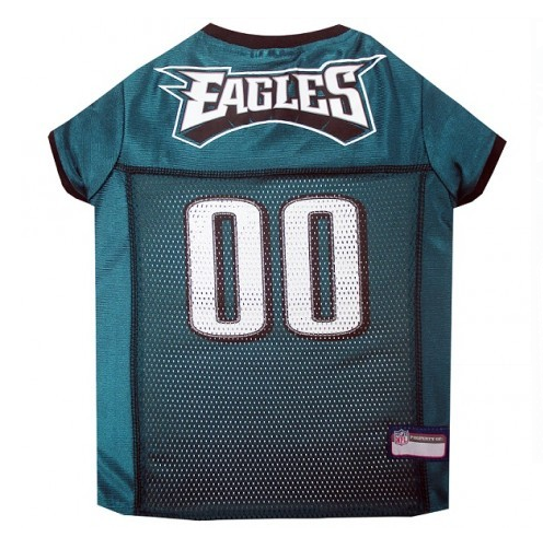 uk availability 324ed dfdde PHILADELPHIA EAGLES DOG JERSEY
