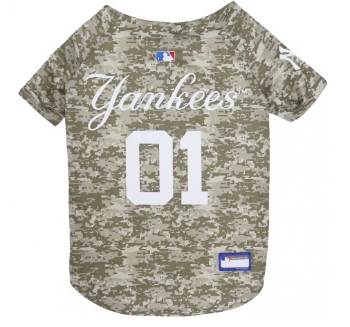 new style 35a90 12581 NEW YORK YANKEES DOG JERSEY – CAMO