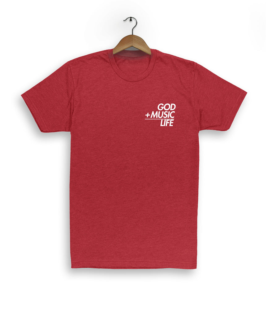 Equation Tee Red - God Life Clothing
