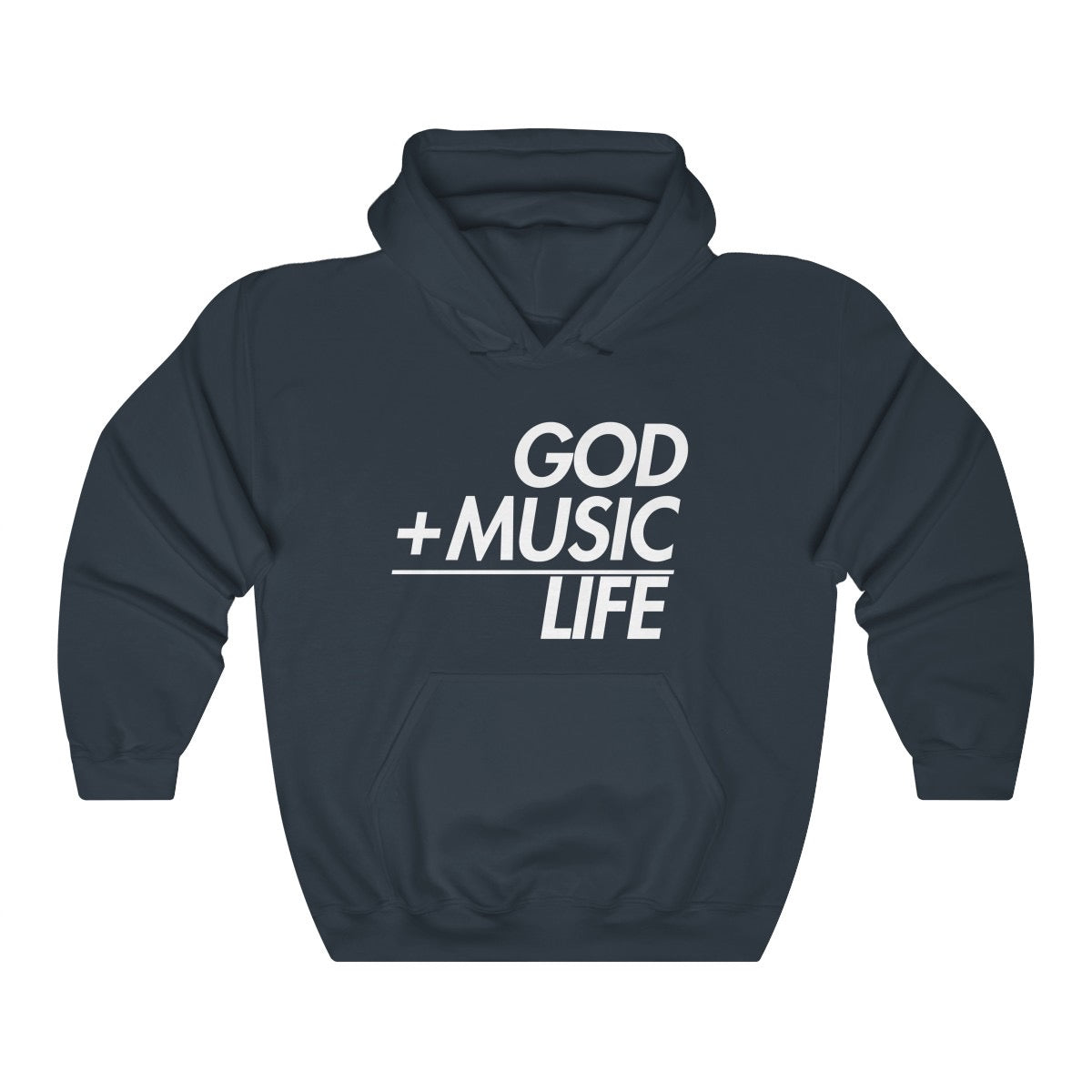 Large Print GML Hoodie - God Life Clothing