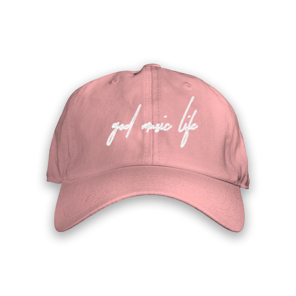 Script Hat Pink - God Life Clothing