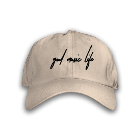 Script Hat Tan - God Life Clothing