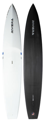 "USA Made Custom - 12'6"" Carbon Race • Base Price: $2,750 • Deposit: $1,375"